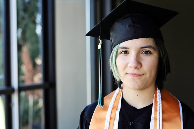 Senior Spotlight: Angela Garza, home school student