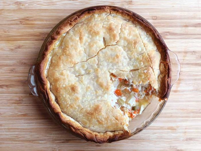 Cooking with Ease by Melissa Tate: Easy Chicken Pot Pie