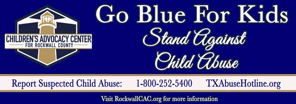 Take stand against child abuse with #GoBlueForKids yard signs now available