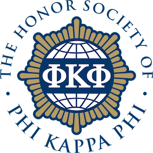 The Honor Society of Phi Kappa Phi inducts two members from Rockwall County