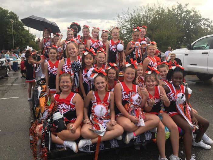 Registration now open for fall 2020 youth Jackets cheer program