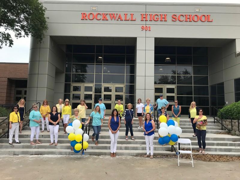 Rockwall Women's League outside Rockwall High School