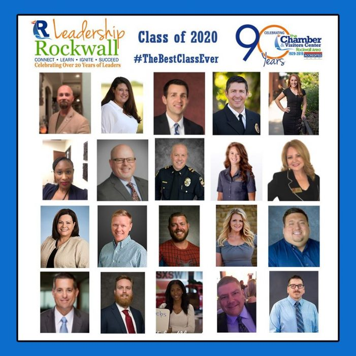 Celebrating the journey of 20 Rockwall area leaders