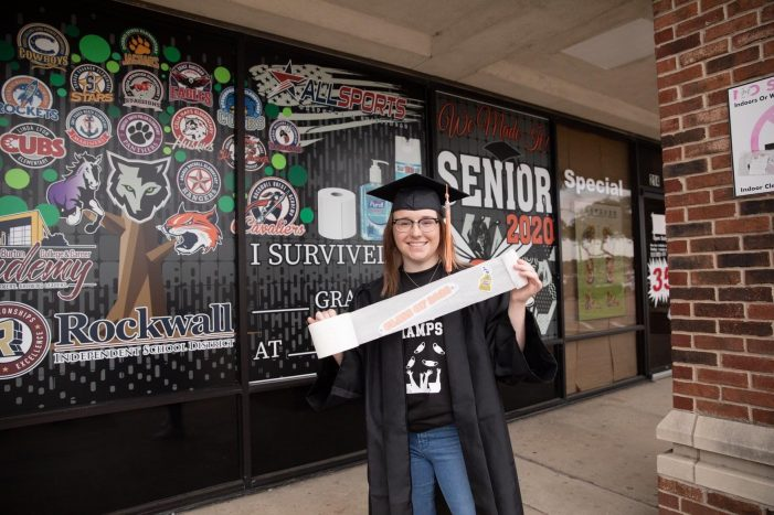 Blue Ribbon News Senior Spotlight: Jordyn White, Rockwall High School