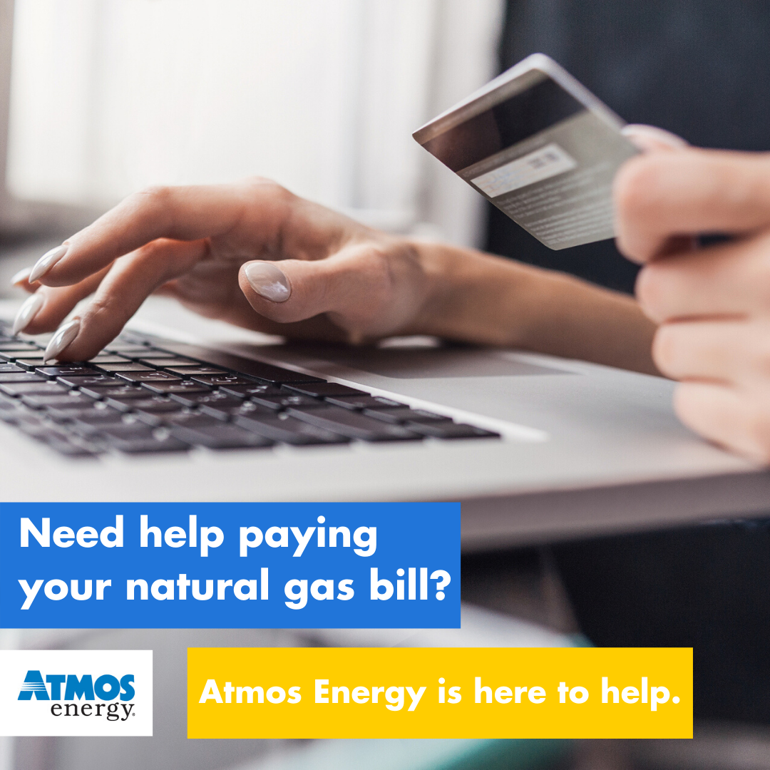 Atmos Energy offers solutions for those needing help paying natural gas bills