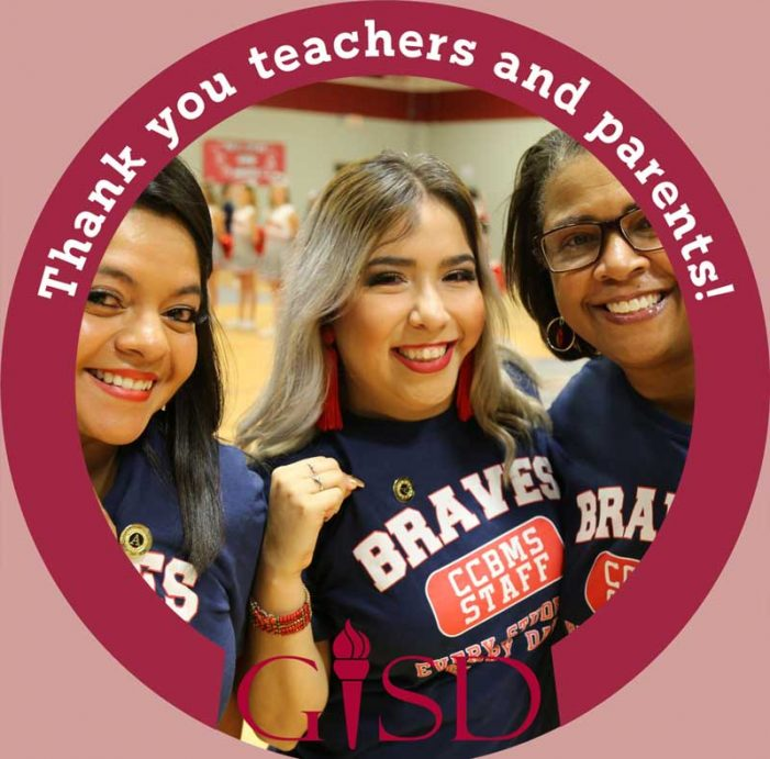 Garland ISD celebrates Teacher and Parent Appreciation Week May 4-8