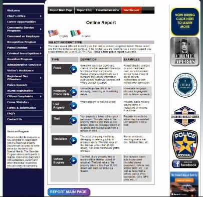 Rockwall Police Department launches online platform for crime reporting