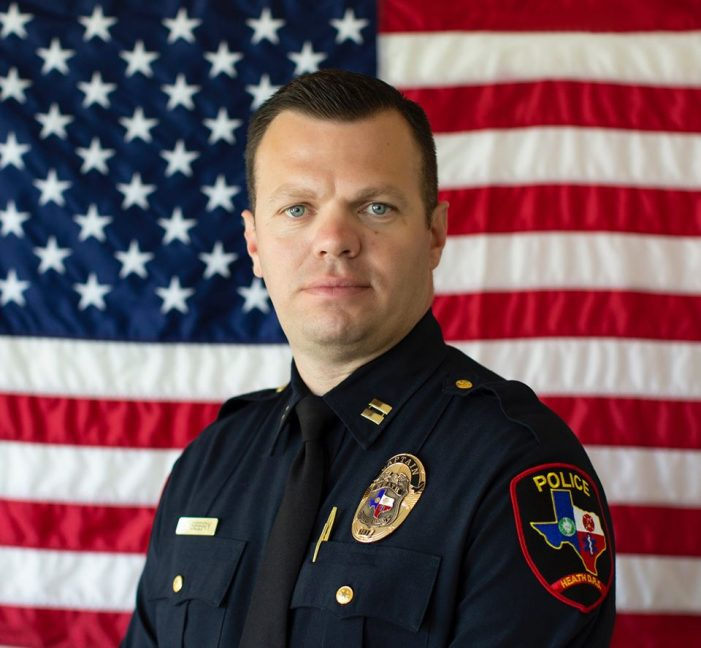Heath Department of Public Safety Captain Brandon Seery named Interim Chief