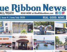 """Blue Ribbon News June/July """"Back to Business"""" 2020 print edition hits mailboxes throughout Rockwall, Heath"""