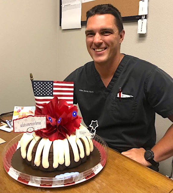 Royse City Urgent Care welcomes back Army Captain William 'Allen' Nicholas