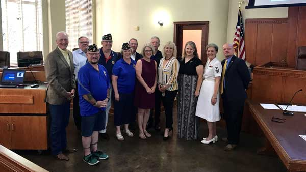 Rockwall Commissioners Court proclaims June 12th as Women's Veterans Day