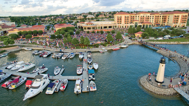 Lineup for Concert by the Lake at Rockwall Harbor announced