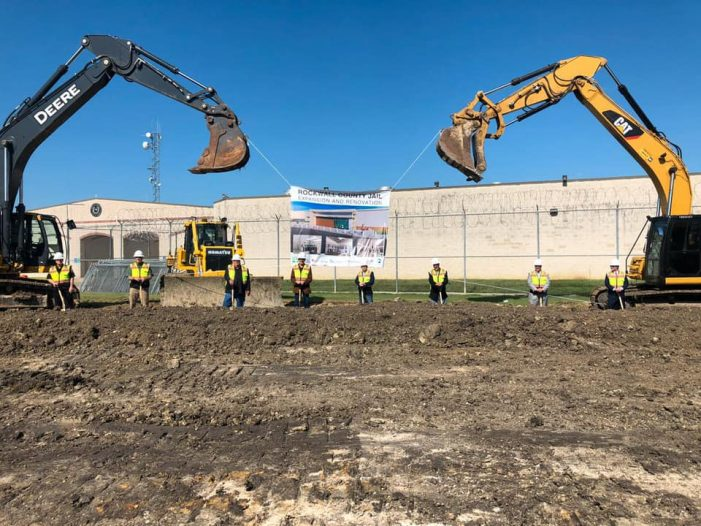Rockwall County Jail Expansion and Renovation Project breaks ground