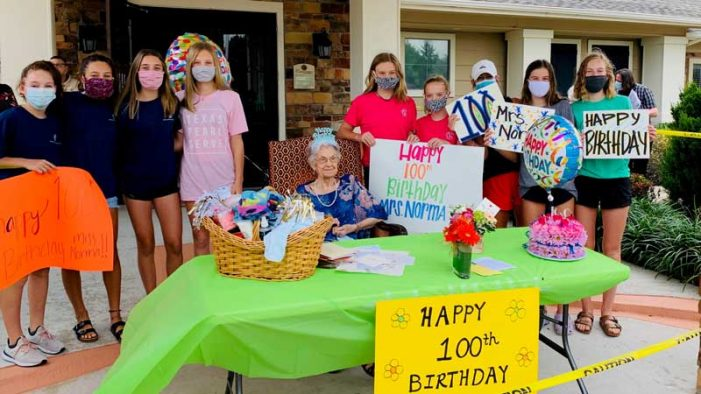 Rockwall Meals on Wheels celebrates client's 100th birthday
