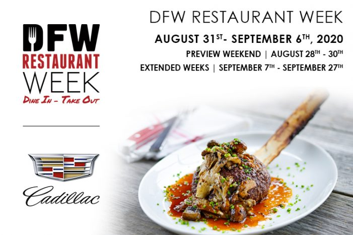 DFW Restaurant Week 2020 serves up extra support for local restaurants during COVID-19 recovery