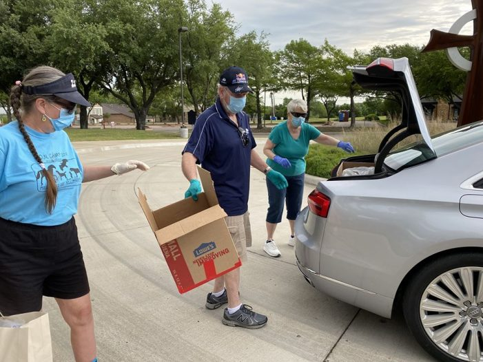 Drive-thru Donation Drive at FPC Rockwall to benefit Helping Hands