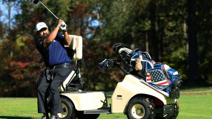 Rockwall military veteran to be featured in CBS special on PGA HOPE program July 25th