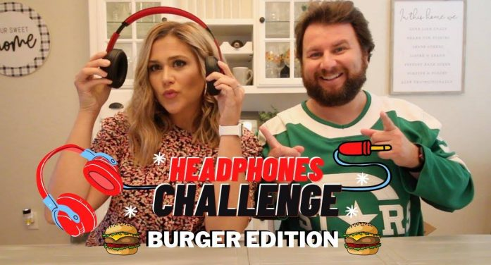 Candidly Curtis: Headphone Challenge Part II, Burger Edition