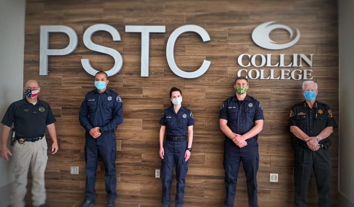 Rockwall County officers graduate from Texas Commission on Law Enforcement Basic Correctional Officer Course