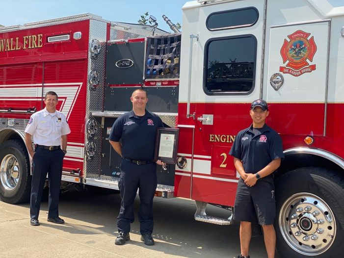 Rockwall firefighters receive Outstanding Unit Citations for lifesaving efforts