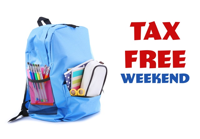 Tax-free weekend starts today, Aug 7-9