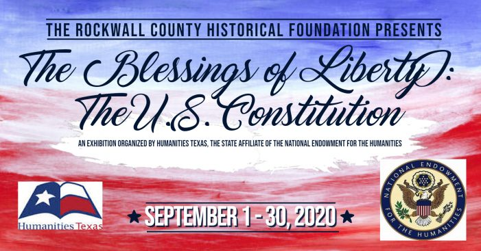 Rockwall County Historical Foundation presents 'Blessings of Liberty' at Bailey House
