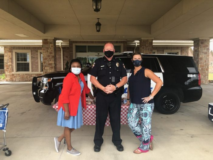 Hot Dogs, Heroes & Hope: Rockwall health and rehab center honors local first responders