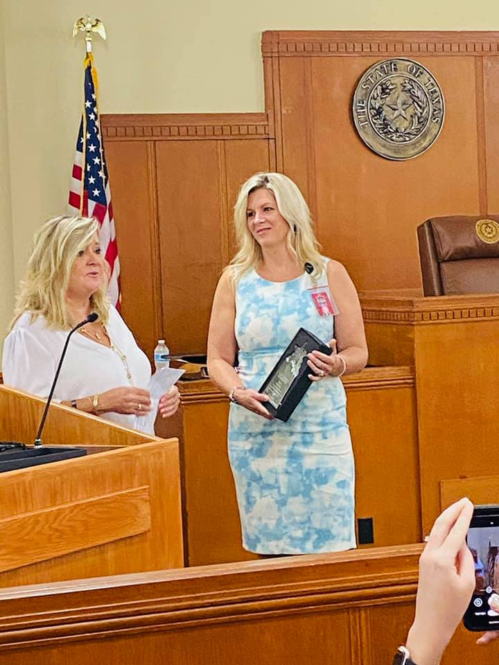 Rockwall County Clerk Chief Deputy Jennifer Fogg