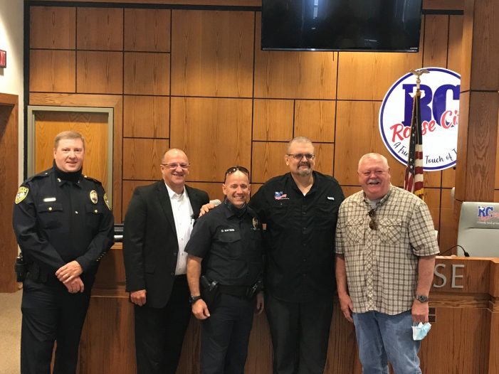 Royse City swears in new police CID Lieutenant and new Fire Investigator