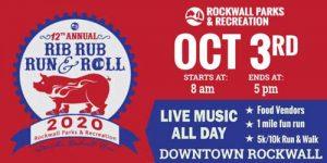 Rockwall Rib, Rub, Run & Roll @ Downtown Rockwall