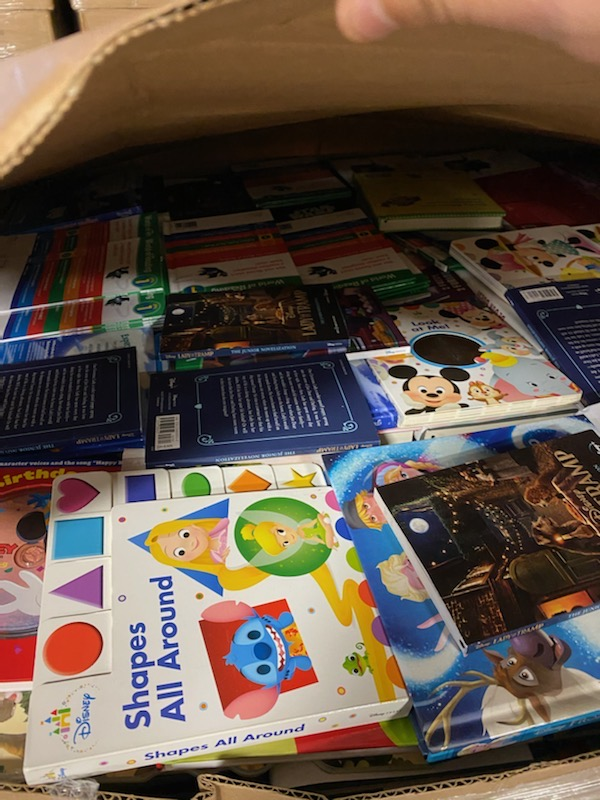 Thousands of new books headed to Dallas, as learning gifts for children in underserved communities