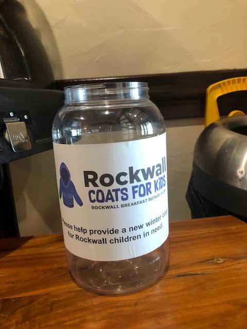 Rockwall Breakfast Rotary Coats for Kids