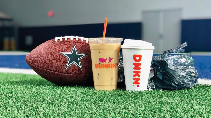 Dunkin' introduces 'Cowboys Game Day' free coffee offer