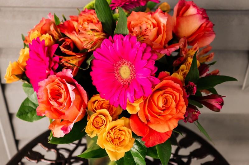 Lakeside Florist custom arrangement