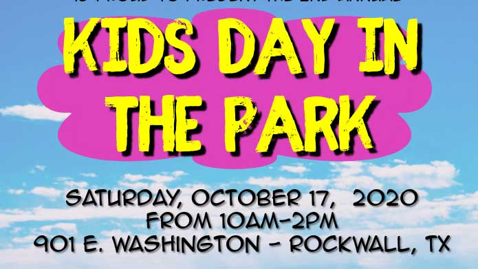 Rockwall County Historical Foundation to host 2nd Annual Kids Day in the Park Oct. 17th