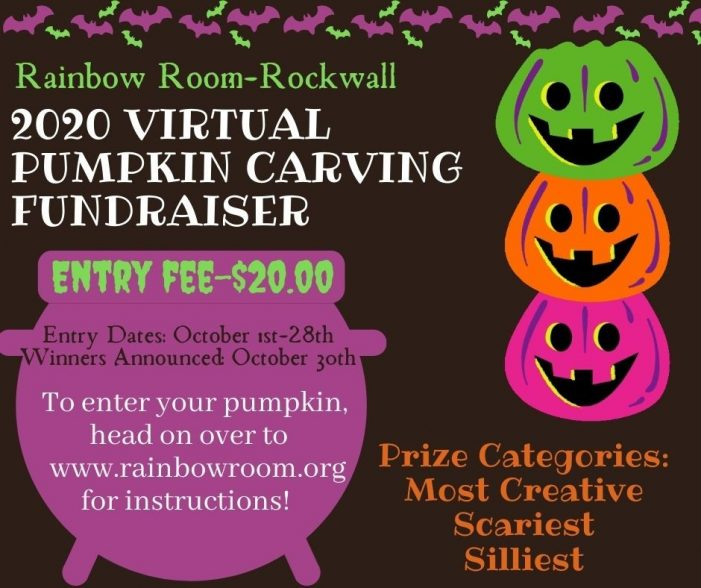 Rockwall's Rainbow Room hosts Virtual Pumpkin Carving Contest
