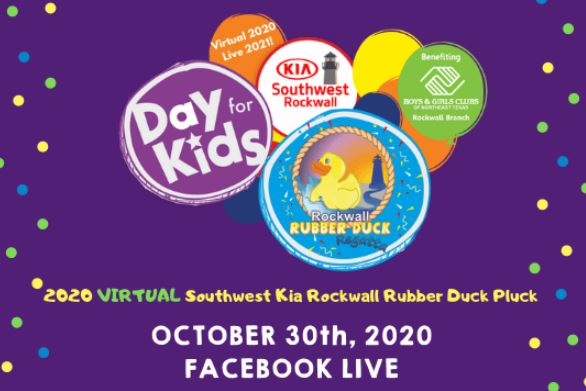 Virtual Duck Pluck: 2020's answer to the Rockwall's Rubber Duck Regatta