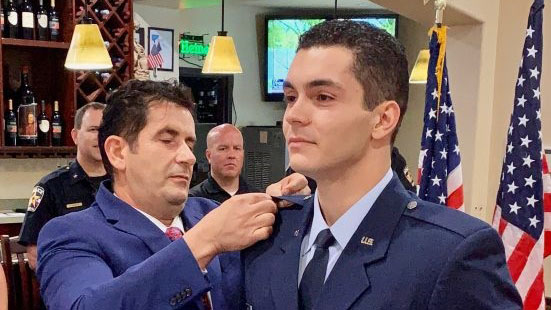 Rockwall High School grad commissioned as second lieutenant in the U.S. Air Force