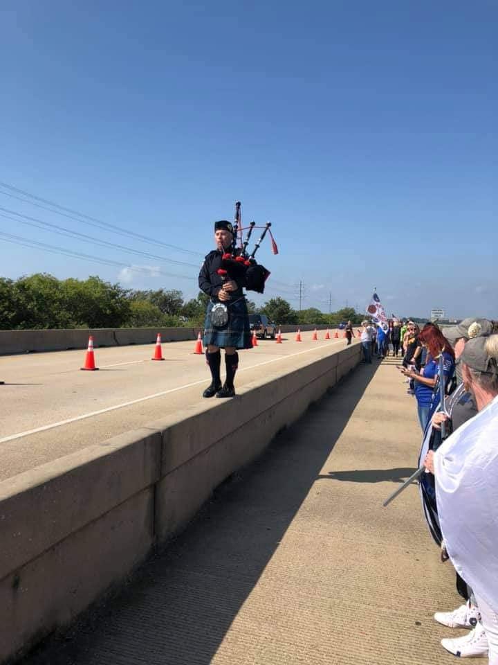 Heroes Memorial Bridge dedication