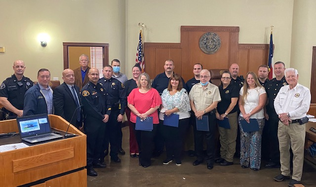 Rockwall Sheriff's Office staff recognized for outstanding service during COVID-19 pandemic