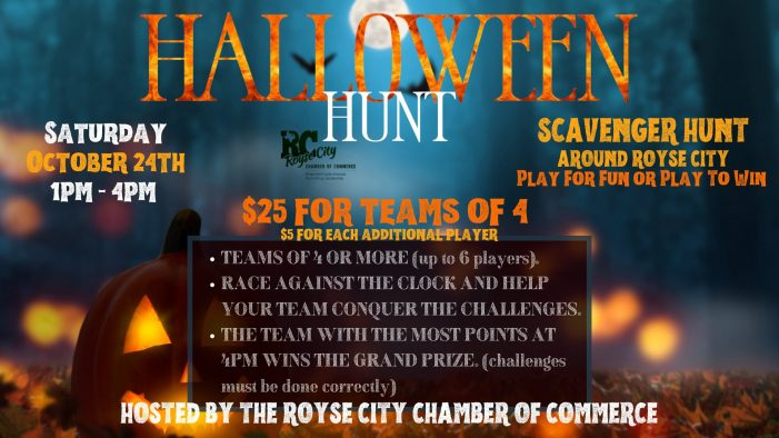 Teams forming for Halloween-themed Scavenger Hunt in Royse City