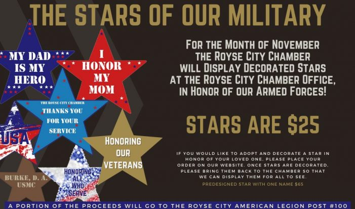 Royse City Chamber presents 'Stars of our Military'