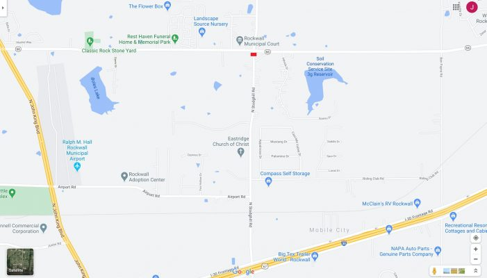 Traffic Alert: FM 3549 connection to SH 66 on southside closed to thru traffic
