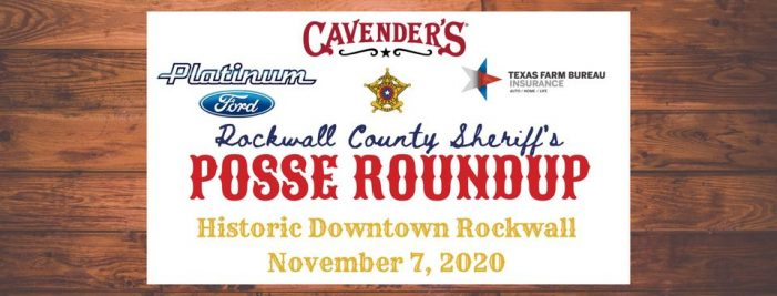 Rockwall County Sheriff's Posse RoundUp to celebrate western heritage, agricultural roots