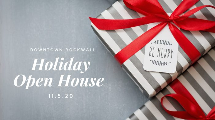 Downtown Rockwall Holiday Open House set for Nov. 5