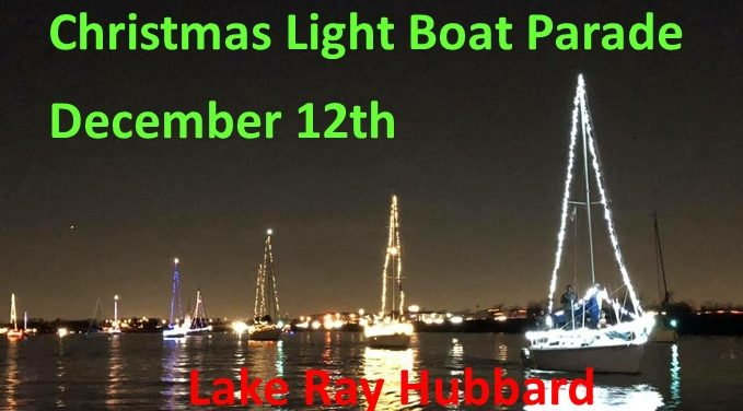 Christmas lighted boat parade planned for Lake Ray Hubbard