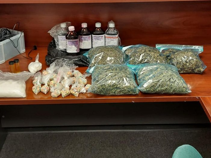 Traffic stop by Royse City police leads to seizure of illegal narcotics, three arrested