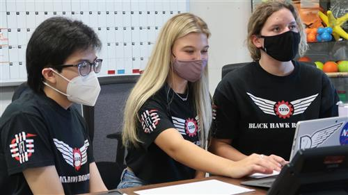 Rockwall-Heath's Blackhawk Robotics Chairman's Team earns grant by L3 Harris Foundation