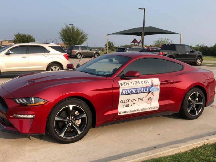 Win a new Mustang in Rockwall Robotics raffle