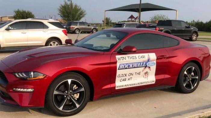 Rockwall Robotics Booster Club raffling a 2020 Ford Mustang